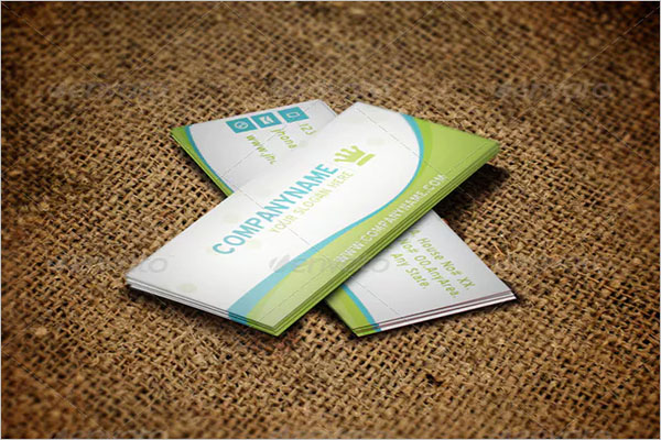 Graphic Gardening Business Card