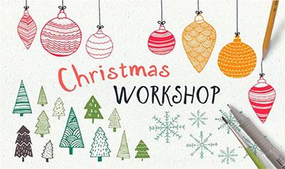 Hand Drawn Christmas Workshop