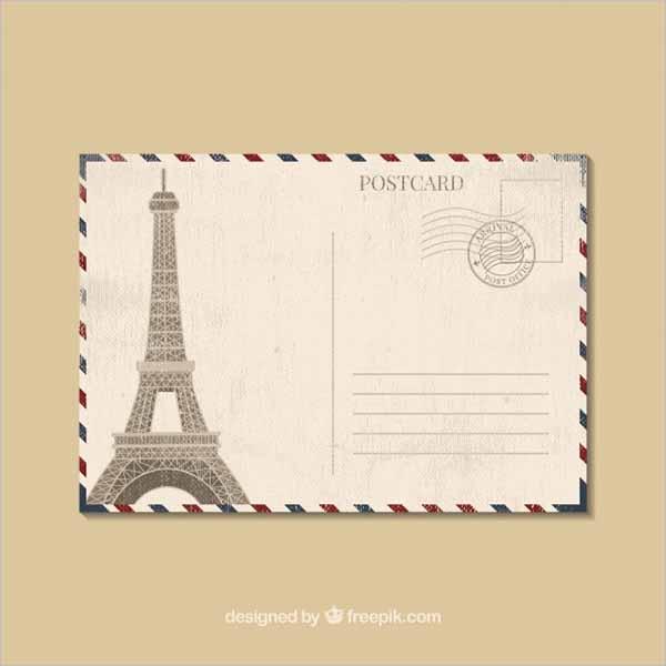 Holiday Marketing Postcard Design