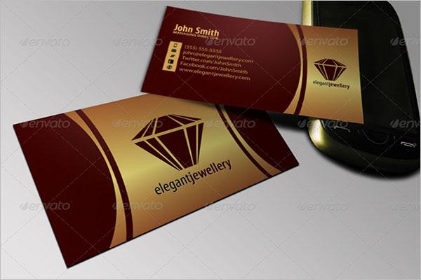 Jewelry Business Card Set