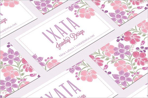 Jewelry Design Business Cards