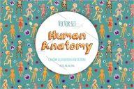 Kids Human Anatomy Postcard Design
