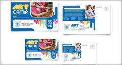 30+ Kids Postcard Designs