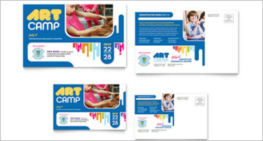 Kids Postcard Designs