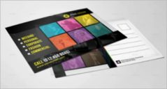 Marketing Postcard Designs