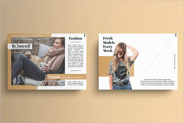 Marketing Postcard Fashion Design