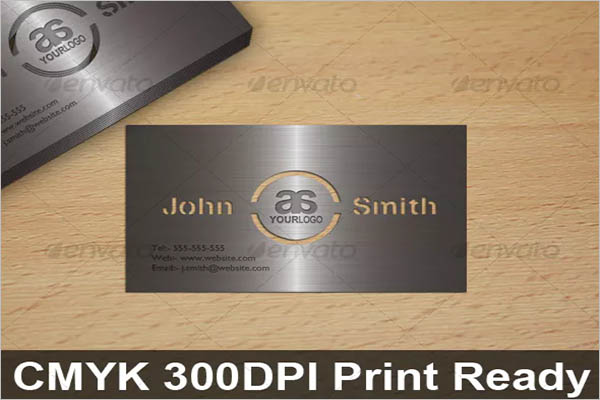 Metal Business Card Design Ideas