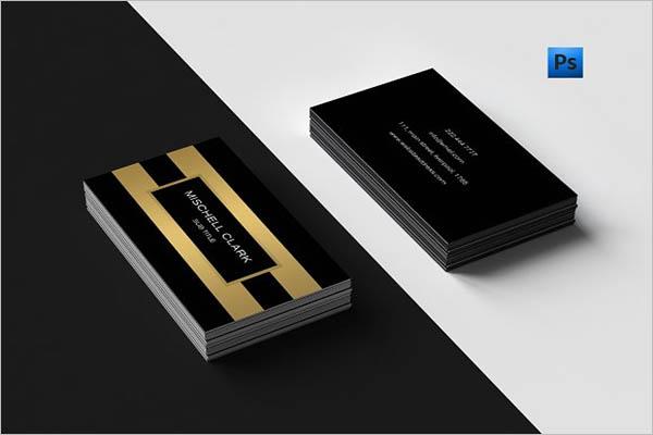 Metal Business Cards Design Online
