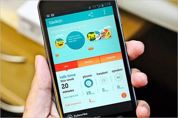 Mobile Android App MockUp Design