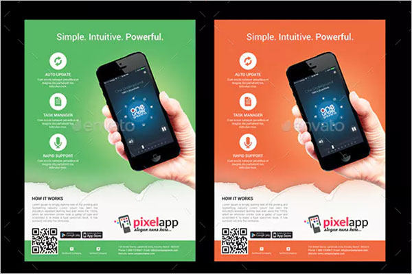 Mobile App iPhone & Android Mockup