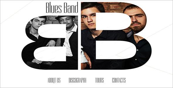 Modern Music Website Template