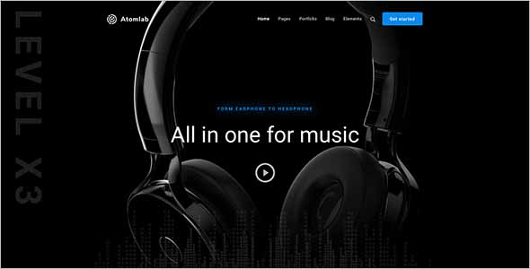 Multi-Purpose Sketch Website Template