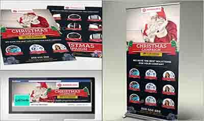 Multipurpose Corporate Business Christmas Pack Sample