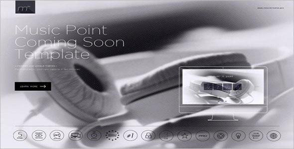 Music Point Website Template