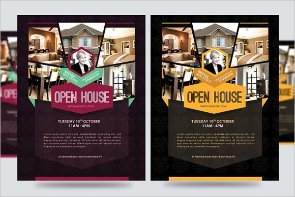 Open House Promotion Flyer