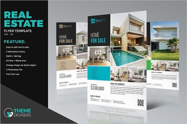 Open House Real Estate Flyer Design