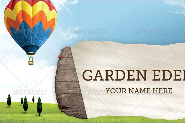Plant nursery Business Card design