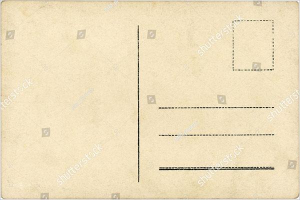 Postcard Blank Design