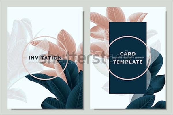 Postcard Design For Event