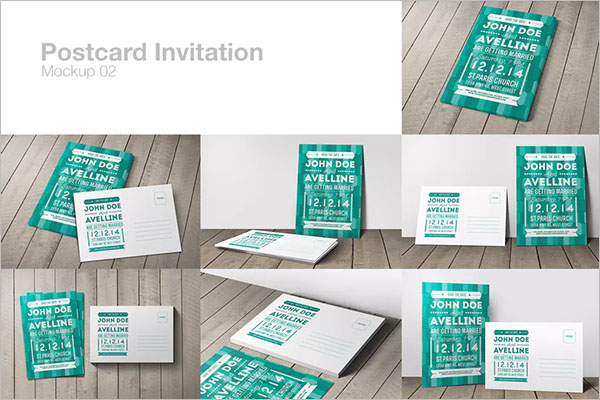 Postcard Invitation Design