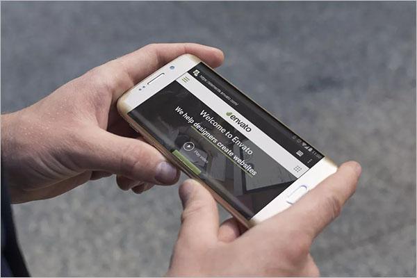 Premium Android Mobile Mockup