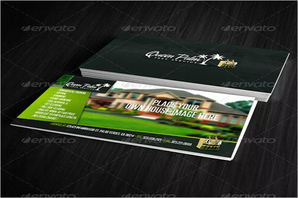 Premium Gardening Business Card