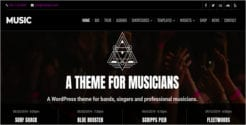 Premium Music Website Template