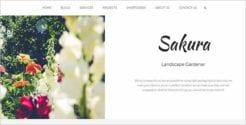 Printable Garden Website Theme1
