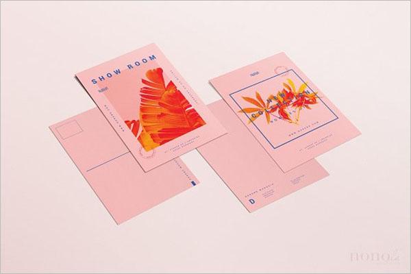 Printable Postcards Free Design