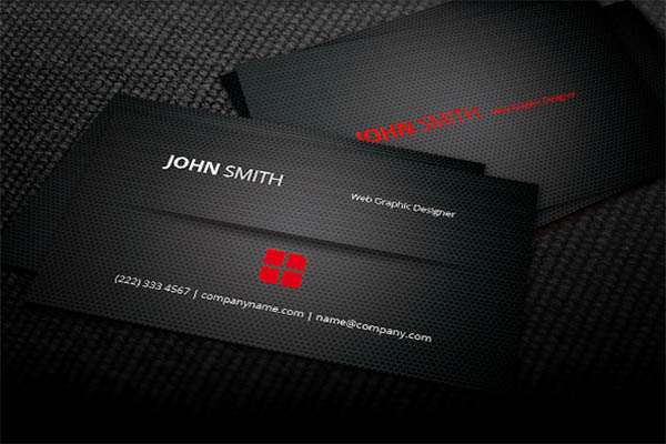 Pure Metal Business Card Design