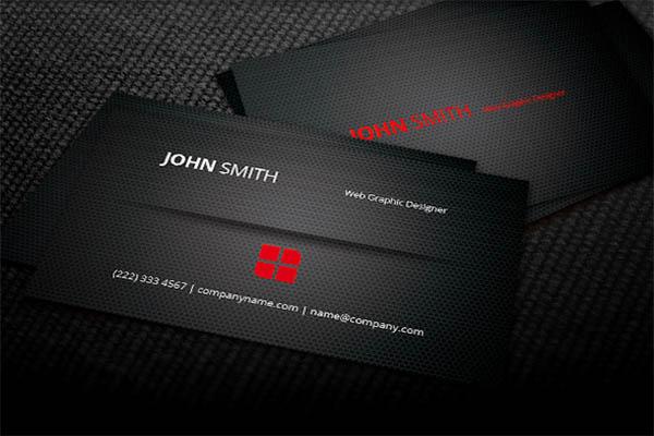 Pure Metal Business Card Design