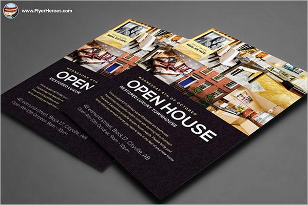 Responsive Open House Flyer