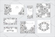 Sample Floral Postcard