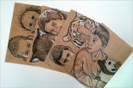 Sample Kids Postcard Design