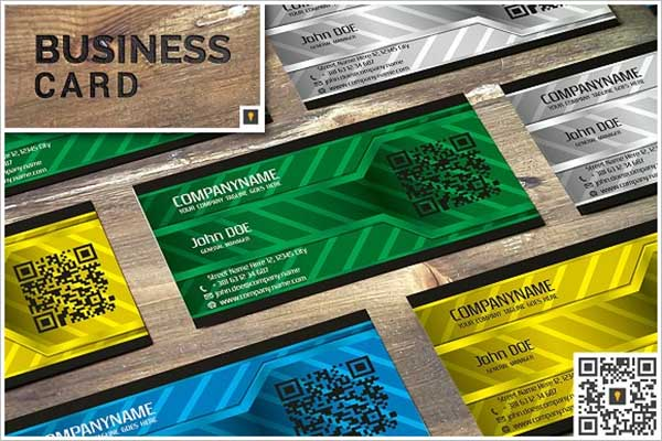 Sample Metal Business Card Template