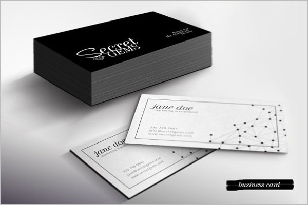 Shop Starter Pack Jewelry Business Card