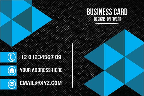 Simple Sleek Business Card Design
