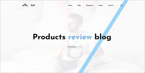 Sketch Affiliate Website Template