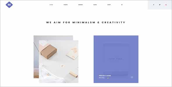 Sketch Html Website Template
