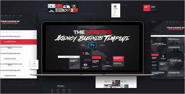 Sketch Website Template Ideas