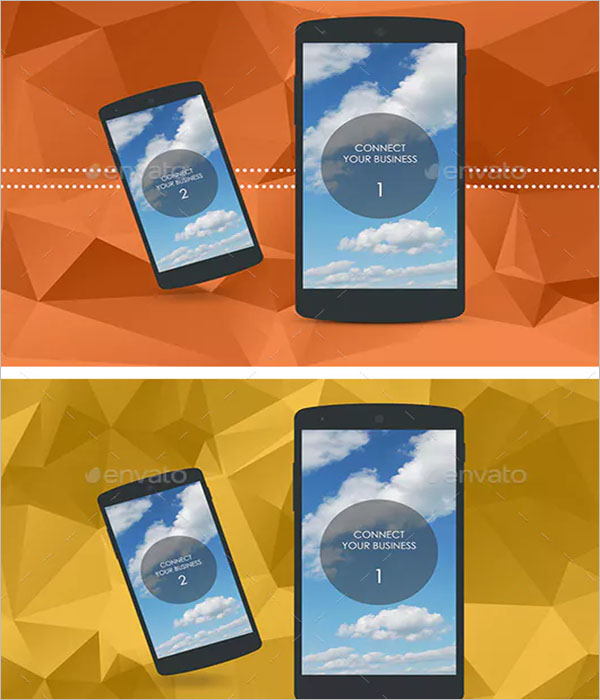 Sleek Android Phone Mockup