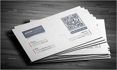 Sleek Business Card Design Sample