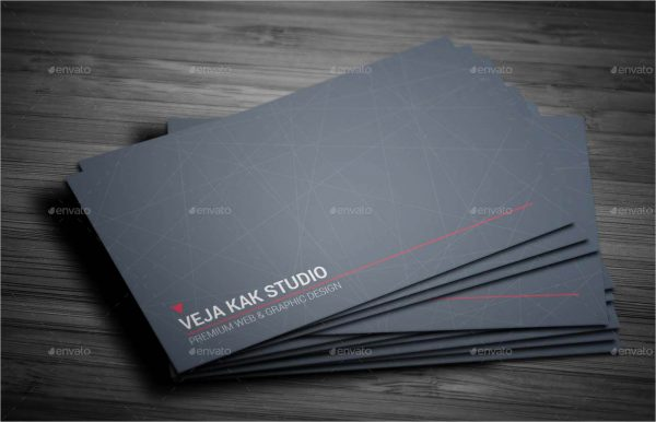 Sleek Business Card Design Sample1