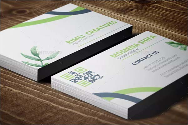 Sleek Custom Business Card Design