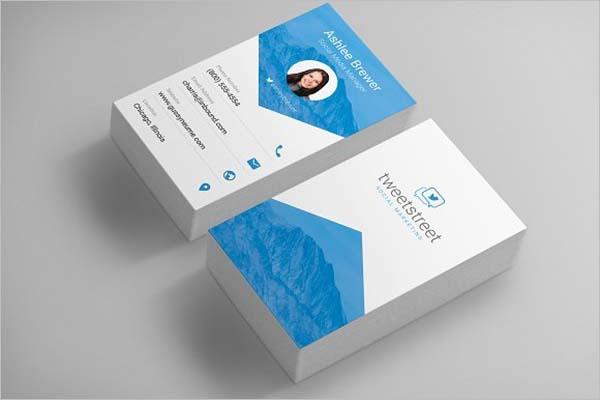 Sleek Minimal Business Card Design