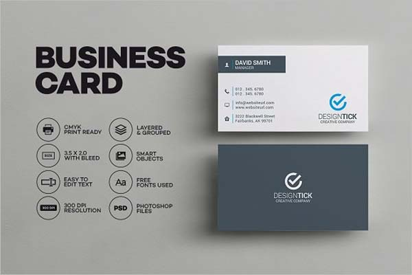 Sleek Modern Business Card Design