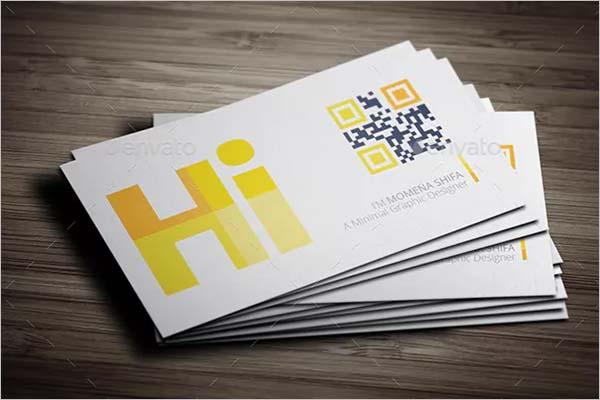 Sleek Printable Business Card Design