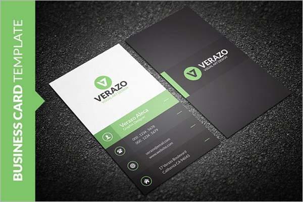 Sleek style Business Card Design