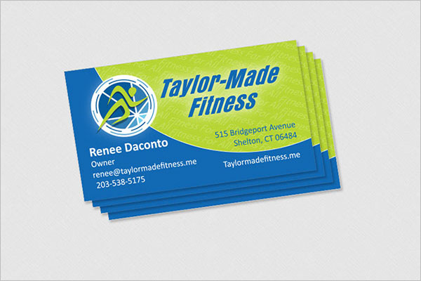 Taylor-Made Fitness Business Card