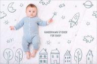 Unique Baby Postcard Design